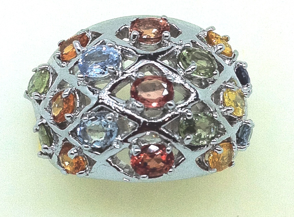 Sapphire ring Multi color Ring